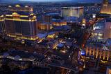 Casinos and Hotels Line the Vegas Strip  Las Vegas  Nevada