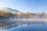 USA  Tennessee Morning Fog on Indian Boundary Lake