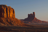 Sunrise  Sentinel Mesa  Big Chief Butte  Monument Valley  Arizona