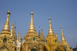 Myanmar  Yangon Shwedagon Pagoda  Holiest Buddhist Shrine in Myanmar