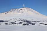 Mount Erebus  Antarctica Panoramic Composite