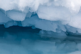 Antarctica Close-up of an Iceberg with Reflection
