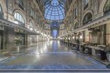 Italy  Milan  Galleria Vittorio Emanuele II at Dawn