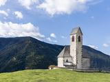 The Church Sankt Jakob  Val de Funes  Italy  South Tyrol  Alto Adige