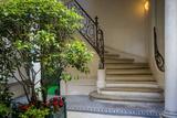 Curved Staircase in Saint Germain Des Pres  Paris  France