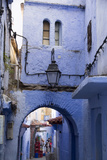 Chefchaouen  Morocco Narrow Alleyways and Stairways
