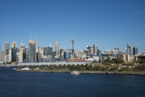 Australia  Sydney Downtown Skyline from White Bay Harbor