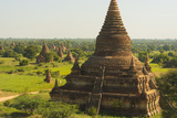 Myanmar Bagan the Plain of Bagan Is Dotted with Hundreds of Temples
