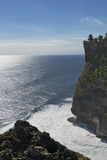 Uluwatu Temple on the Cliff  Bali Island  Indonesia