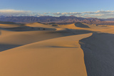 The Mesquite Sand Dunes in Death Valley National Park  California  USA