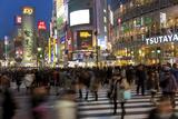 Worlds Busiest Road Crossing  Shibuya  Tokyo  Japan