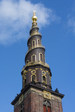 Copenhagen  Denmark  St Annes Church of Our Savior with Steeple