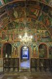 Bulgaria  Central Mts  Veliko Tarnovo  Preobrazhenski Monastery  Mural