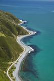 Shoreline and Entrance to Wellington Harbour  Wellington  New Zealand