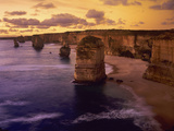Sunset at 12 Apostles  Port Campbell NP  Victoria  Australia