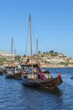 Portugal  Oporto  Douro River  Rabelo Boats