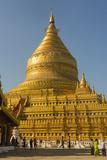 Myanmar Bagan Nyaung U Shwezigon Pagoda