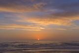 Sunset over the Ocean at Montana de Oro SP Near Los Osos  California