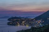 Croatia  Twilight Dubrovnik