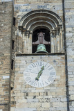 Europe  Portugal  Lisbon  Clock and Bell Tower of Lisbon Cathedral