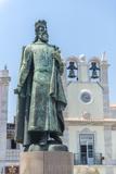 Portugal  Cascais  Statue of D Pedro Iv in Praca 5 de Outubro