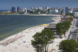 Romania  Black Sea Coast  Mamaia  Elevated Beach View
