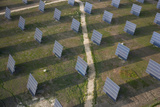 Aerial View of Solar Panels Huelva Province  Spain