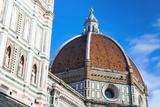 Cathedral Santa Maria del Fiore  Piazza del Duomo  Tuscany  Italy