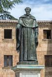 Spain  Salamanca  Statue of Frei Luis de Leon in Yard of the Clergy