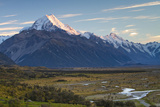 New Zealand's Aoraki  Mount Cook Is Located in the South Island