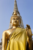 Buddha Statue  Temple of the Dawn (Wat Arun) in Bangkok Thailand