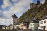 Germany  Rheinland-Pfalz  St Goarshausen  Burg Katz Castle and Town