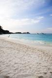 Beach Seascape of a Remote Island  Similan Surin Island Chain
