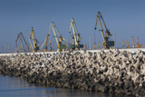 Romania  Black Sea Coast  Constanta  Constanta Port  Cargo Cranes