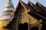 Wat Phra Singh  Chiang Mai  Thailand  South East Asia