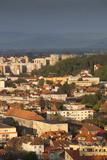 Romania  Transylvania  Brasov  New City Buildings  Sunset