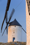 Windmills in Ciudad Real Province  Castilla La Mancha  Spain
