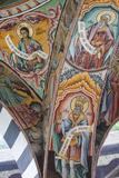 Bulgaria  Southern Mountains  Rila  Rila Monastery  Wall Frescoes