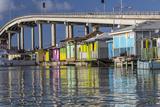 Bahamas  Nassau Vendors' Shacks in Potters Cove
