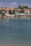 Bulgaria  Black Sea Coast  Sozopol  Town and Fortress Walls