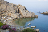 St Paul's Bay  Lindos Rhodes Island  Dodecanese  Greece