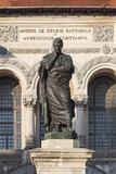 Romania  Black Sea  Constanta  Piata Ovidiu  Ovid Square with Statue