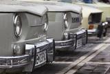 Romania  Transylvania  Brasov  Piata Sfatului Square  Antique Car Show