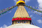 Boudhanath Stupa  Kathmandu Valley  Nepal