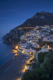 The Amalfi Coast of the Hillside Town of Positano  Campania  Italy