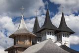 Romania  Maramures Region  Rodna Mountains NP  Orthodox Monastery