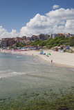 Bulgaria  Black Sea Coast  Sozopol  Town Beach