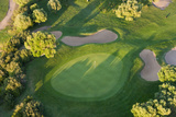 Aerial View of Golf Course Huelva Province  Spain