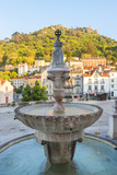 Fountain in Sintra  Near Lisbon  Portugal