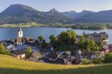 St Wolfgang  Wolfgangsee Lake  Flachgau  Upper Austria  Austria